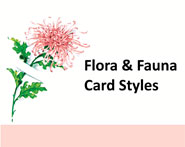 Floral and Fauna Enclosure Cards