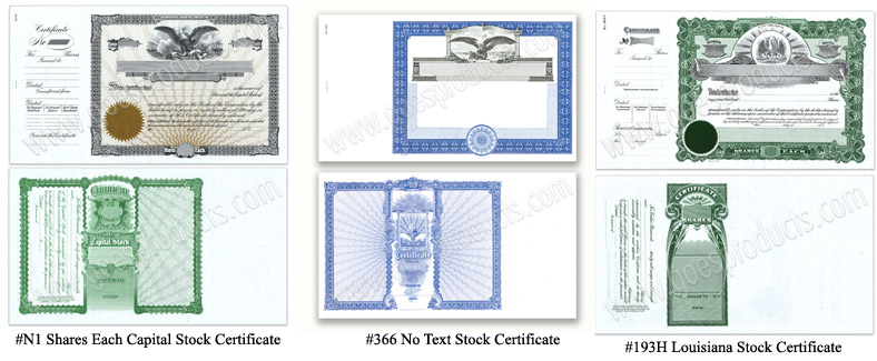 Goes lithographing stock certificates goes 15 x 85 stock certificates yadclub Images