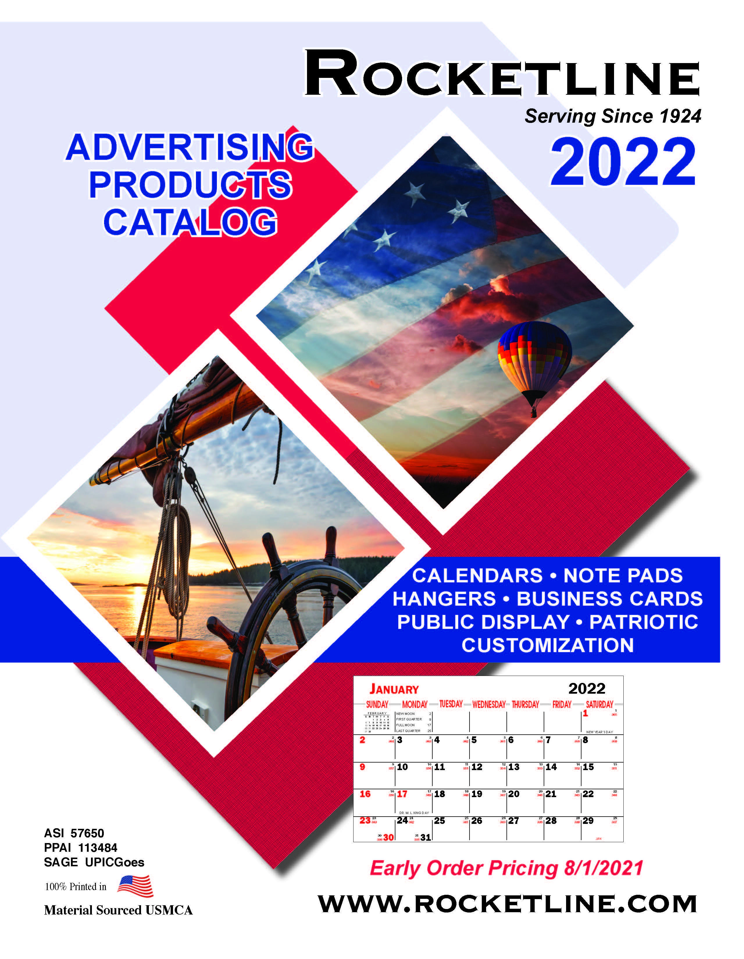 Rocketline Catalog 2022