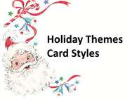 Holiday Themed Enclosure Cards