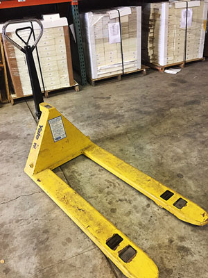 Used Hand Pallet Jack for Sale